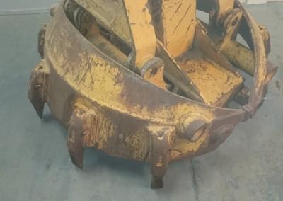 Buispaalgrijper/Pile gripper/Pfahlgreifer diameter 135cm