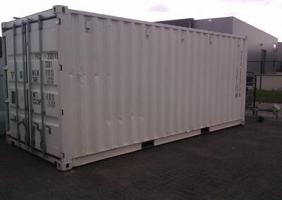 Materiaal/gereedschap 20ft container